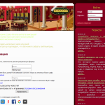 The page with the registration forms of Casino Nirvana