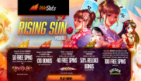 Land of the Rising Sun Japanese-themed promo in WildSlots