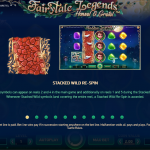 Information page of this slot machine