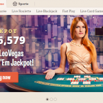 Live casino here is present