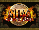 Spartacus Call To Arms slot logo