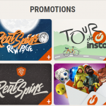 A variety of promotions are presented here