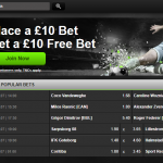 2 sections of the site are devoted to sports betting