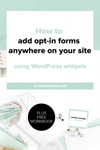 One simple way to get more sign-ups, is to add forms in multiple places. Learn how to add opt-in forms anywhere on your site using WordPress widgets.