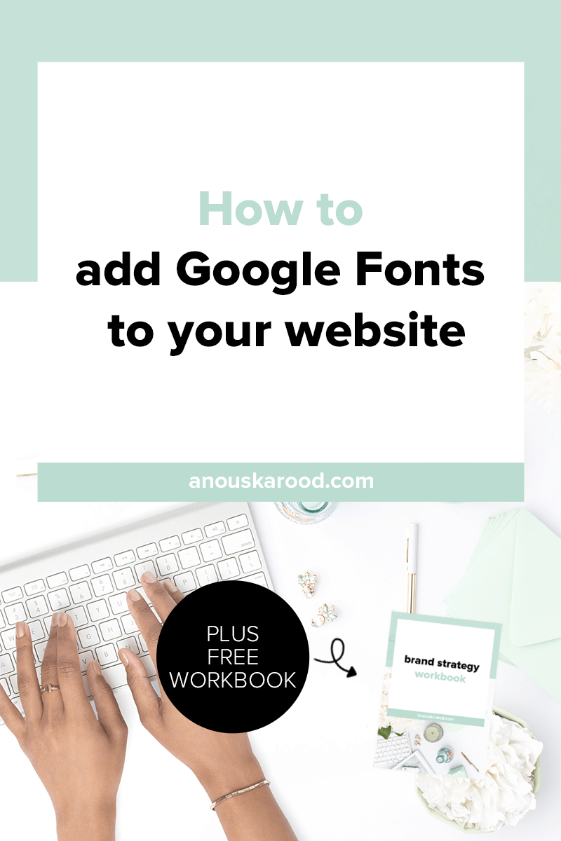 Click through to learn how to add Google fonts to your site and the difference between the three options for including Google fonts on your website.