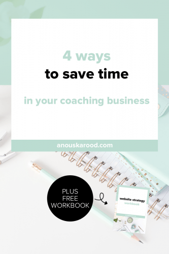 Want to take your coaching business to the next level, but feel like you're on a treadmill, no matter how much you do, you're stuck at the starting point? Save time in these 4 ways, so you can spend the valuable time you have available for your business on things that will actually bring in cash.