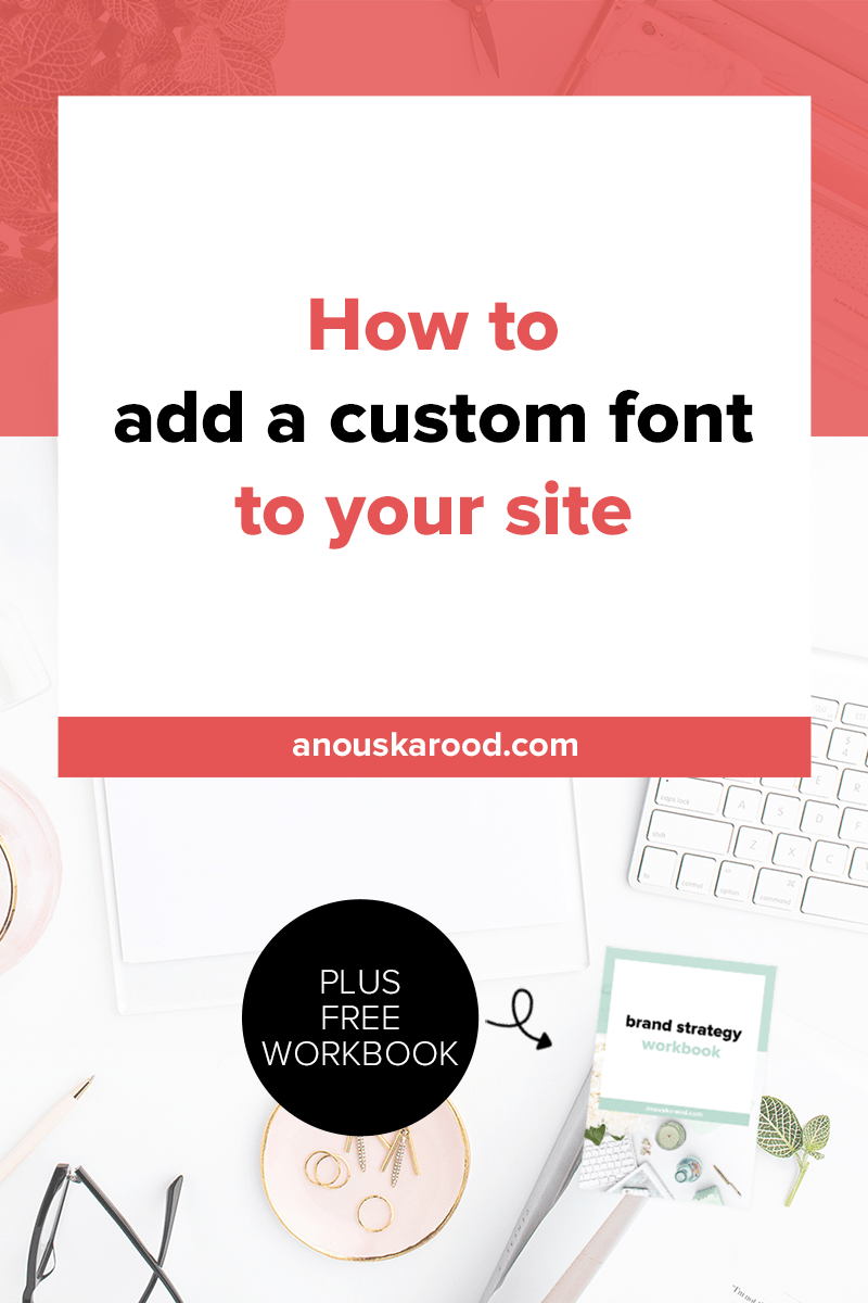 How to add a custom font to your site