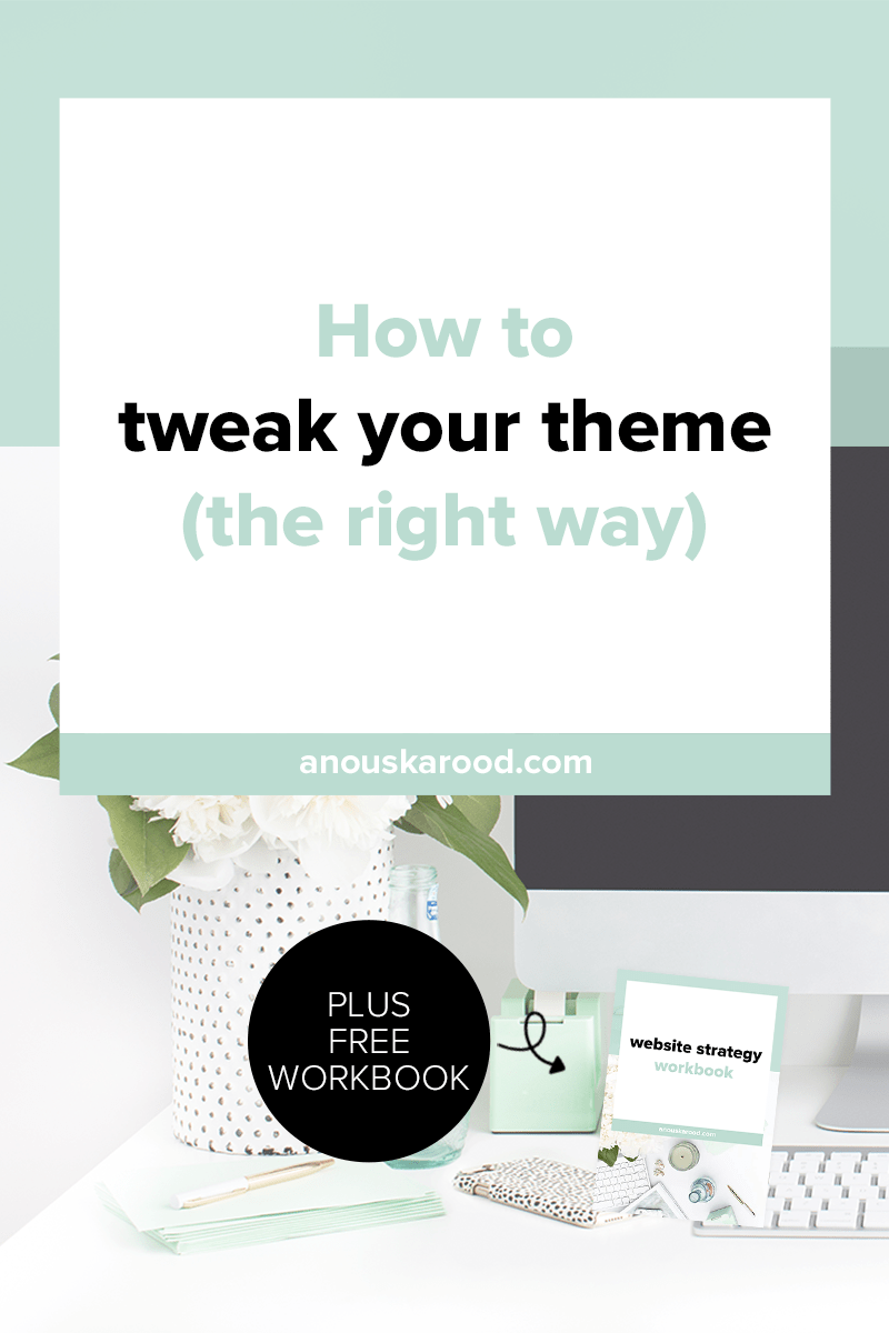 So you've found a theme that's close to what you want for your site. Before you make any changes to your theme, make a child theme first!
