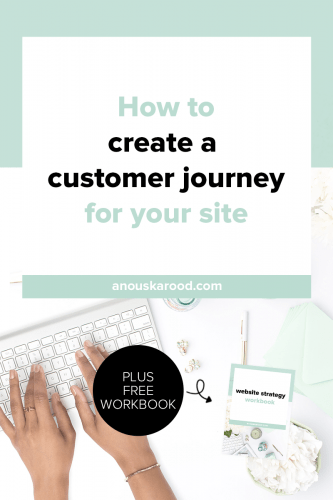 How to create a customer journey for your site