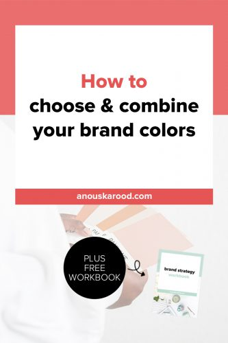 How to choose & combine your brand colors