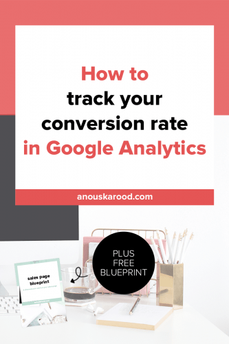 How do you know how well your sales page or landing page is performing? You can track your conversion rate in Google Analytics. You set up a goal, and see where visitors came from and which pages/posts get you the most subscribers or sales.