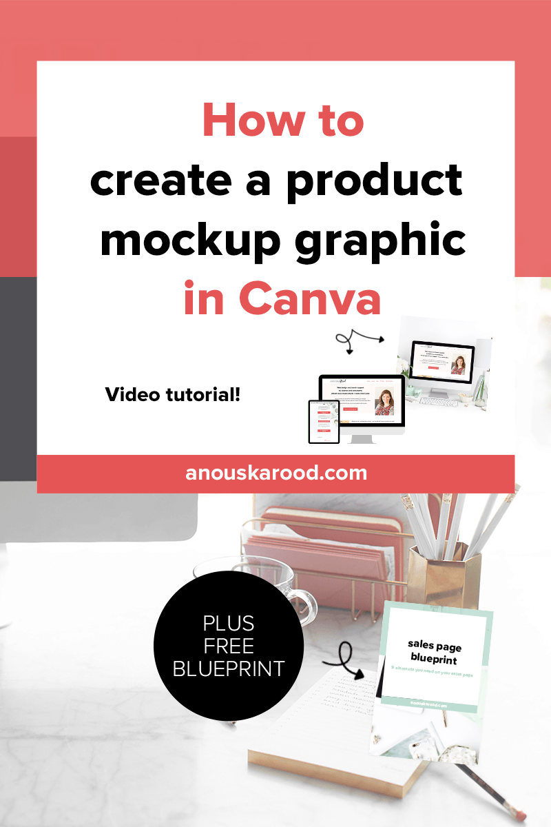 How to create a product mockup graphic in Canva