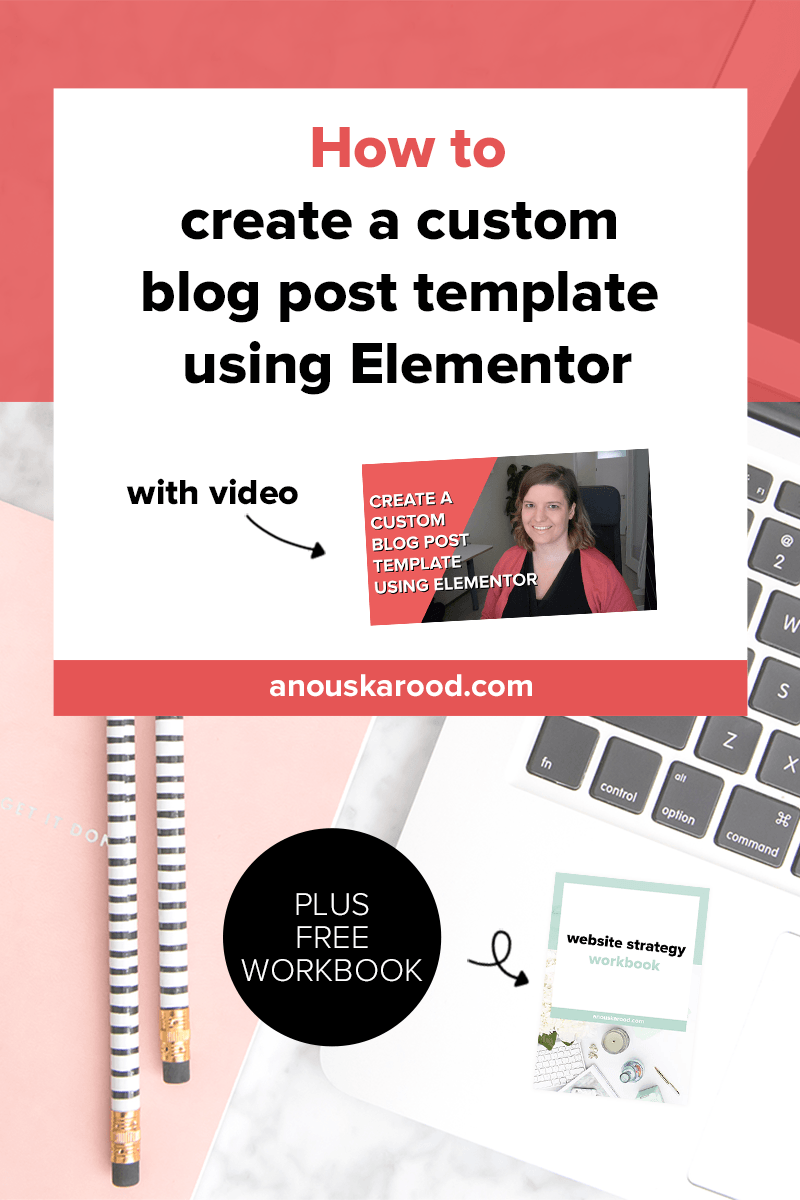 How to design and customize blog posts in WordPress using Elementor