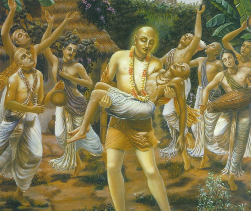 Why a pure Vaiṣṇava's body is laid in a tomb after his departure