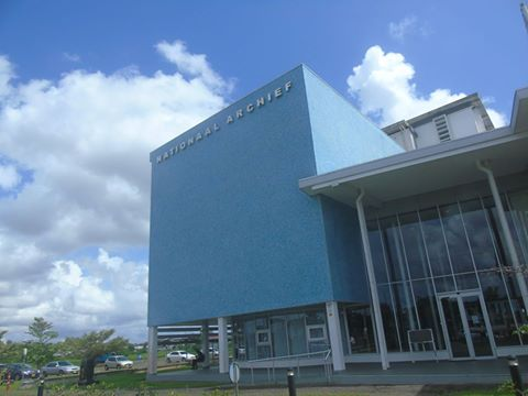 Visiting the National Archives of Suriname