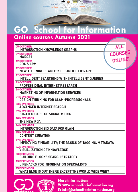 Our courses this Autumn