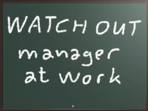manager at work